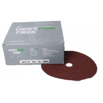 Resin Fibre Edger Disc (Red)